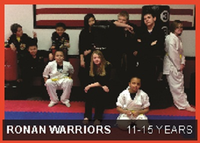 Ronan Warrior Martial Arts